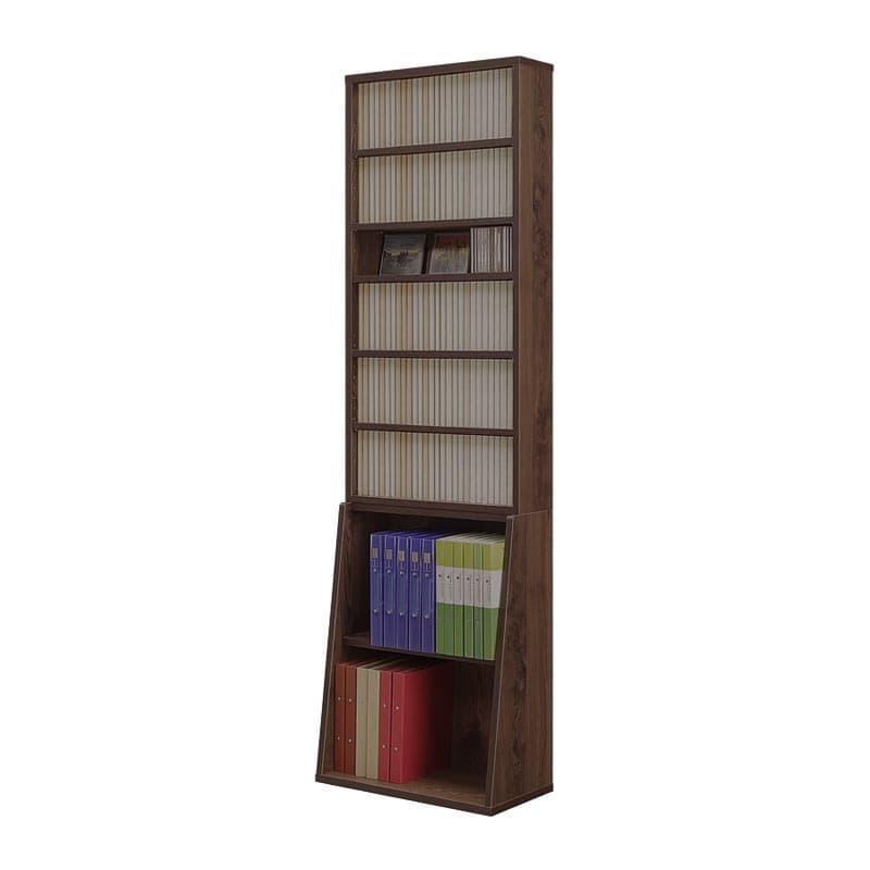 書棚 コミックタワー 60上下段セット(BR)