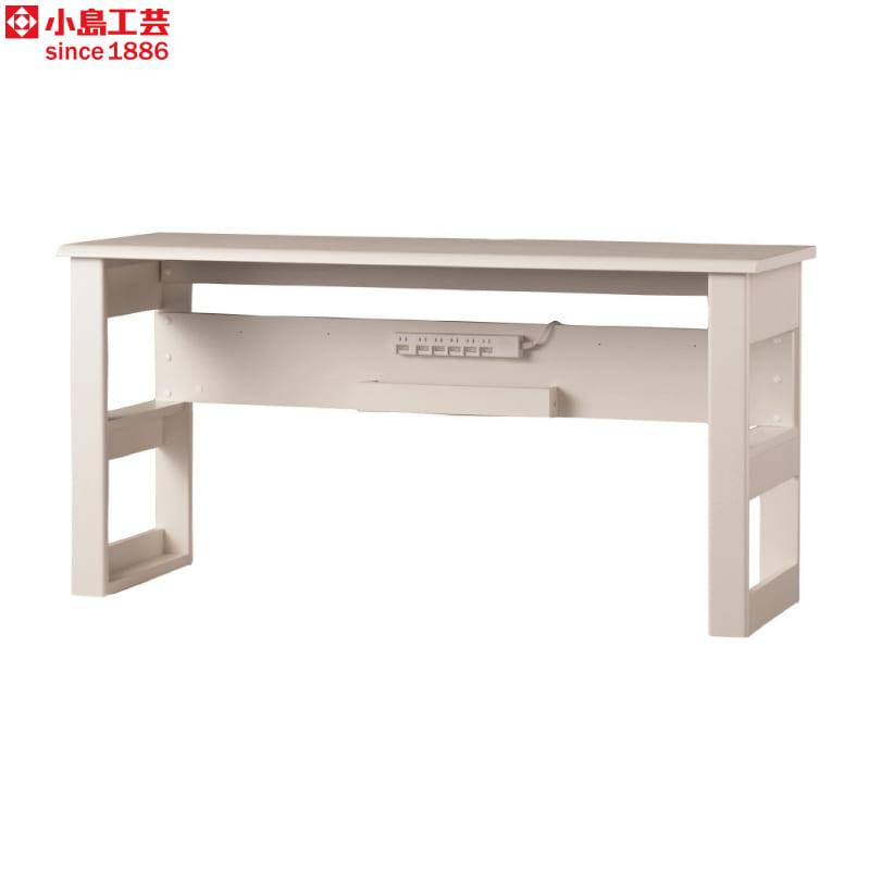 小島工芸 デスク JD−150×50(ウッディホワイト):小島工芸 デスク