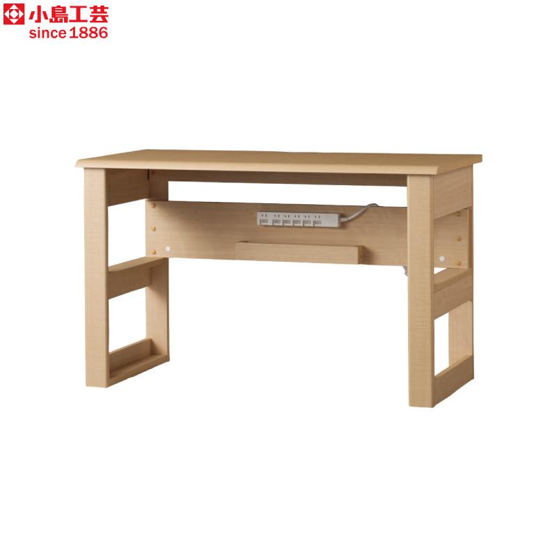 小島工芸 デスク JD−120×50(チェリーナチュラル):小島工芸 デスク
