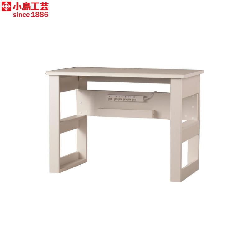 小島工芸 デスク JD−100×50(ウッディホワイト):小島工芸 デスク