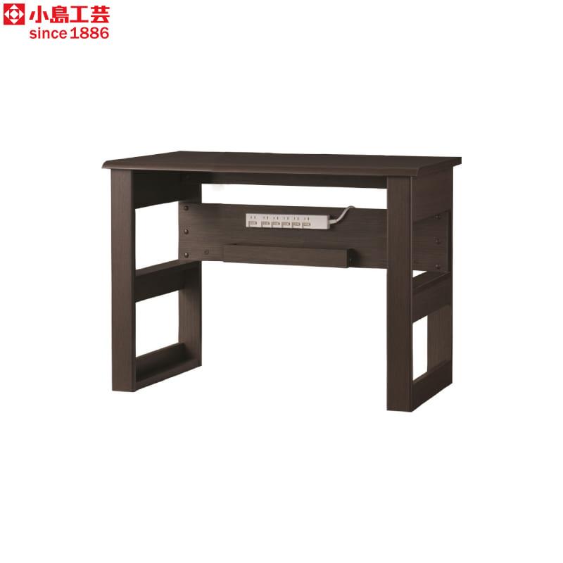小島工芸 デスク JD−100×50(ウッディウェンジ):小島工芸 デスク