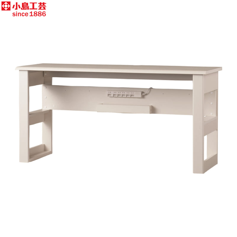 小島工芸 デスク JD−150×60(ウッディホワイト):小島工芸 デスク