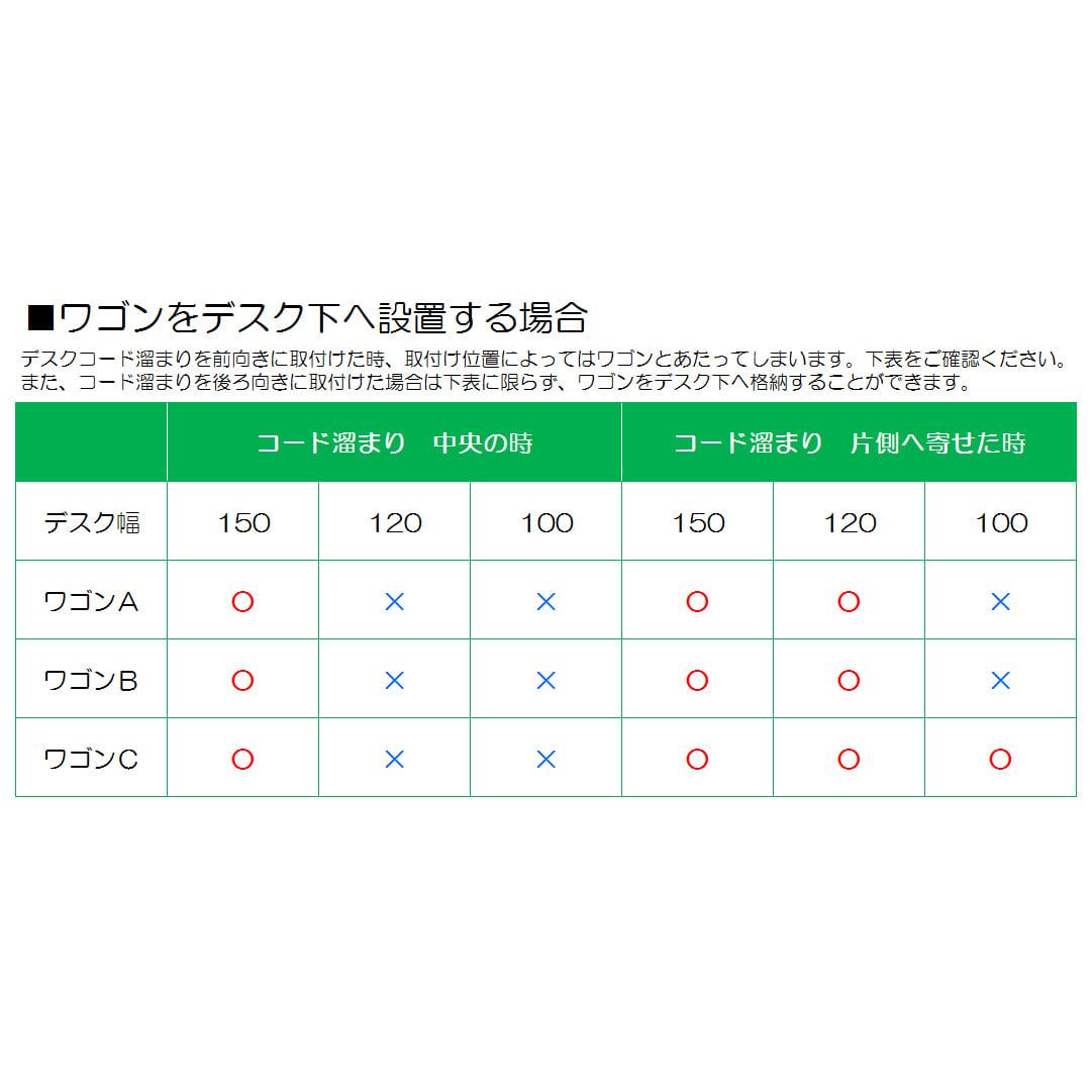 小島工芸 ワゴン JD−C(ウッディホワイト)