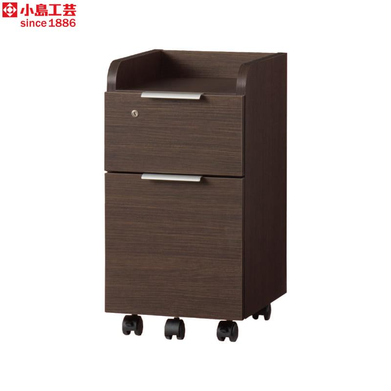 小島工芸 ワゴン JD−C(ウッディウェンジ):小島工芸 ワゴン