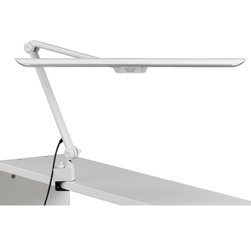 デスクライト TS−A19WH アーム式 ホワイト:デスクライト