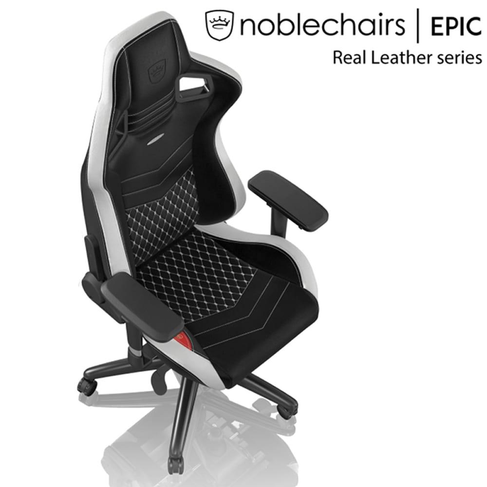 ゲーミングチェア ノーブルチェア EPIC NBL−RL−EPC−002 トリコロール:クールなデザインと座り心地