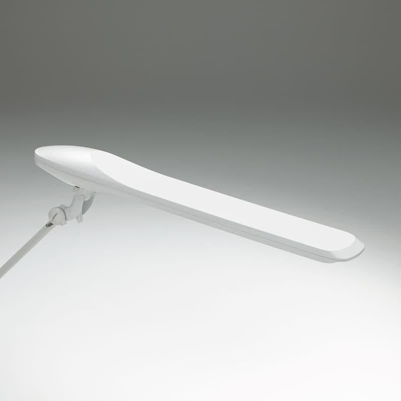 デスクライト NEWプレール コンセントUSB付 シングル865BSZ−G928 ホワイト