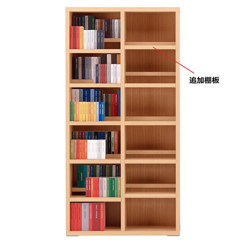 コミックシェルフ 追加棚板 CBA−90T用棚板 エリーゼアッシュ:コミックシェルフ 追加棚板