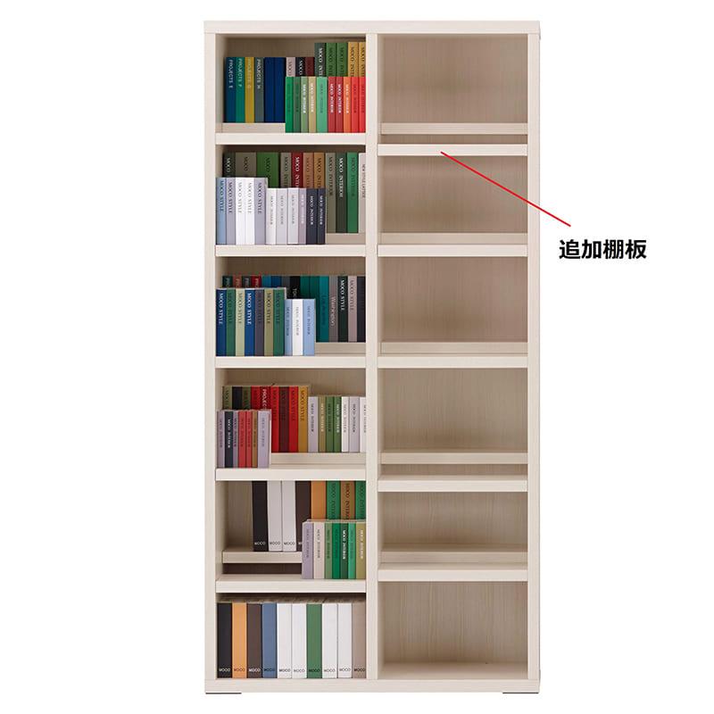 コミックシェルフ 追加棚板 CBS−90T用棚板 ホワイトウッド:コミックシェルフ 追加棚板