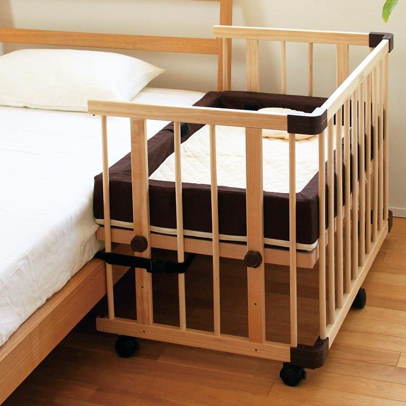 ファルスカ(farska)ベビーベッド用 添い寝安全ベルト