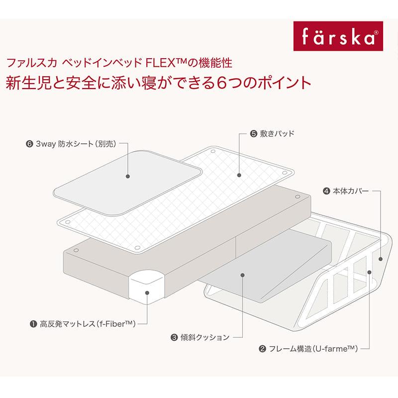 ファルスカ(farska)ベッドインベッド フレックス オーガニック