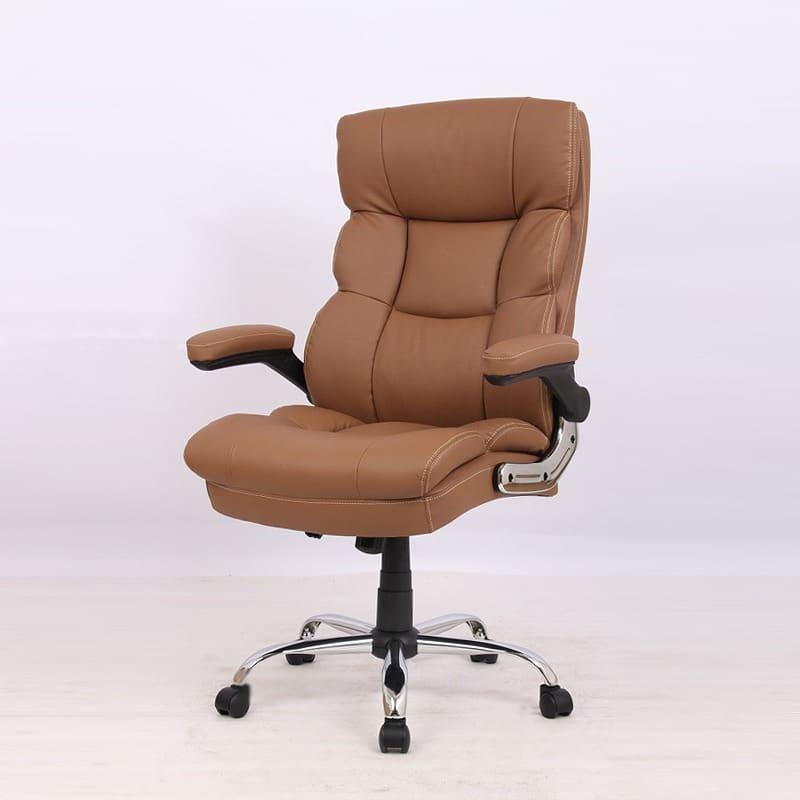 ゆったり座れるマネージャーチェア ブラウン BMC−BR ブラウン:ゆったり座れるマネージャーチェア