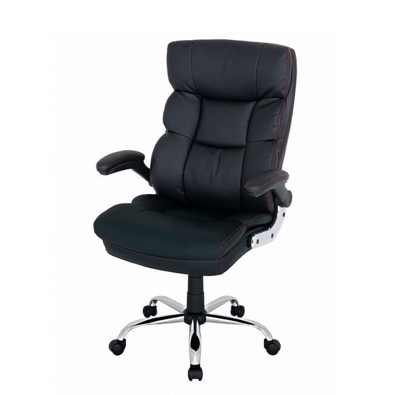 ゆったり座れるマネージャーチェア ブラック BMC−BK ブラック