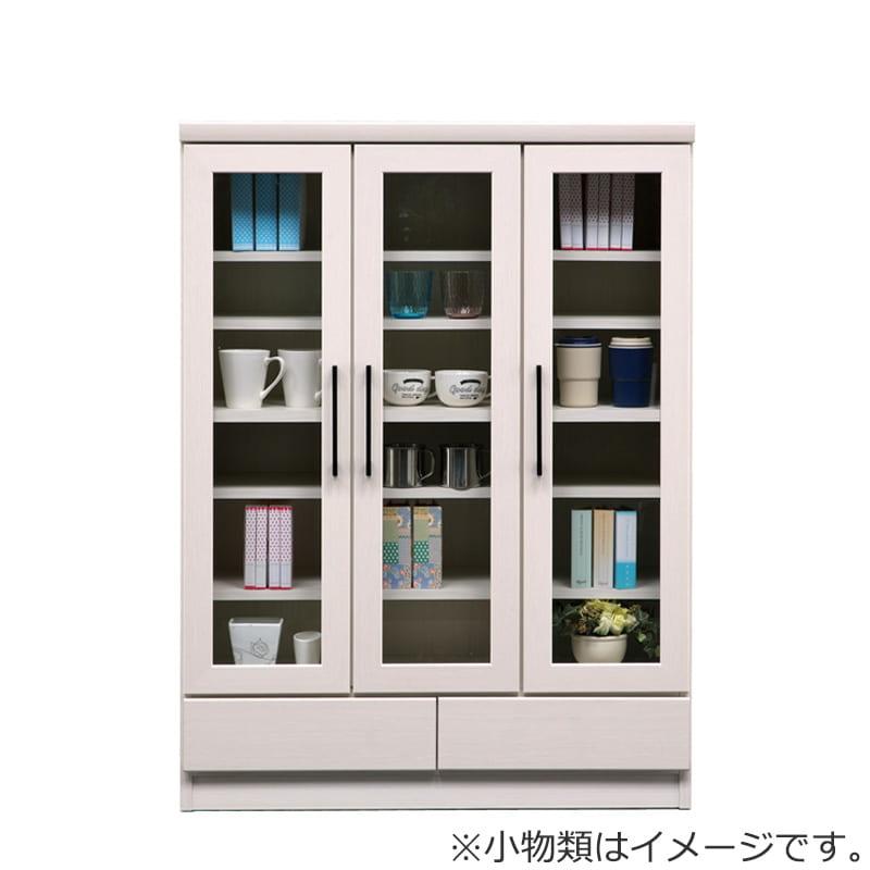 フリーボード マテリア�U 90ミドル ホワイト木目(ガラス戸):フリーボード マテリア�U