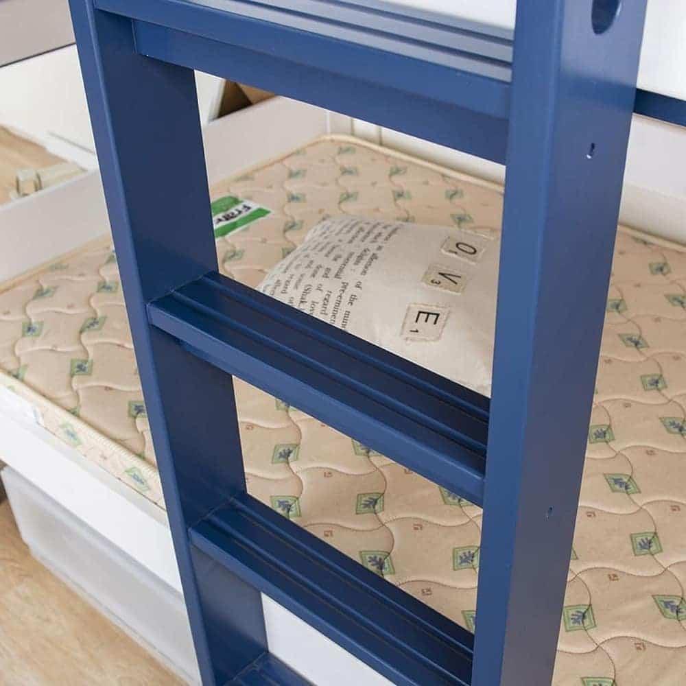 2段ベッド ストラ WH/GR(ホワイト/ウォームグレー)