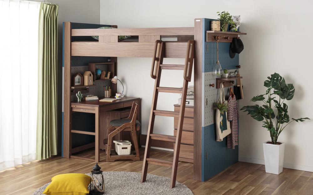 :スペースを有効活用できるシステムベッド