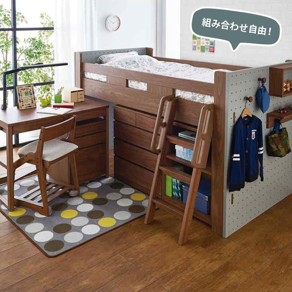 :システムベッドと組み合わせ出来ます!