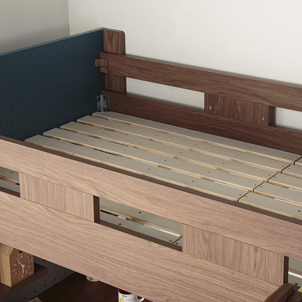 :すのこベッド