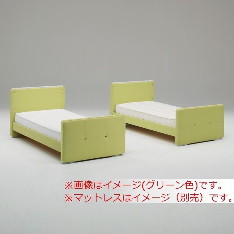 二段ベッド ファブリオ イエロー:選べる3カラー:グリーン/ネイビー/イエロー