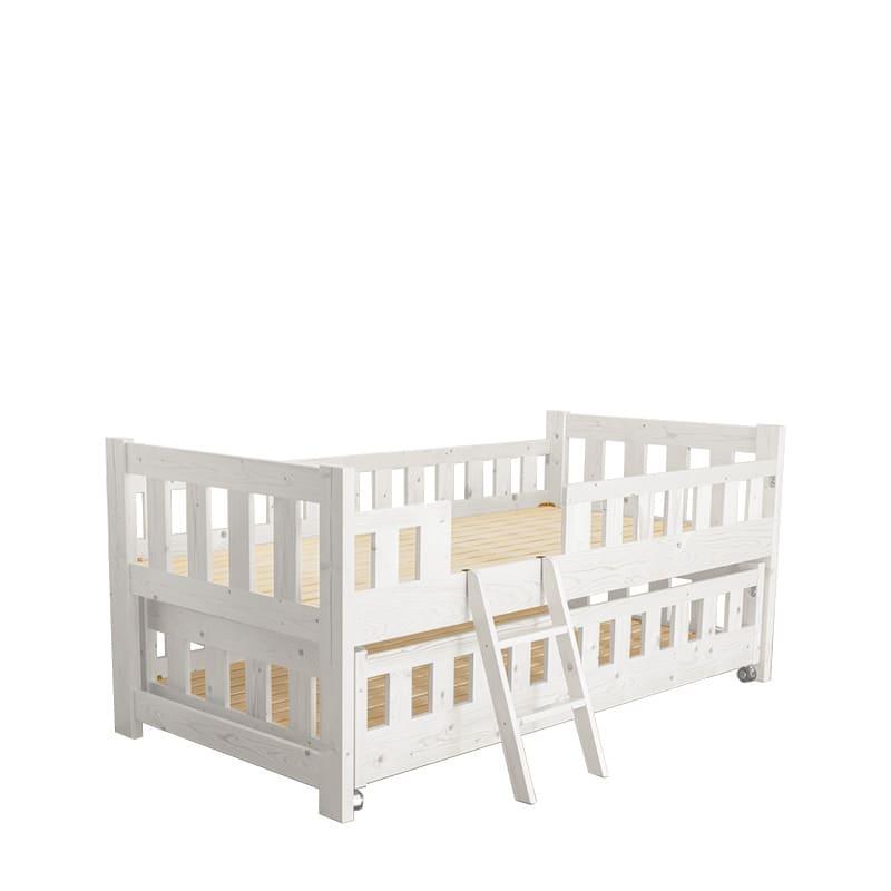 親子ベッド オルクス 親子ベッド WH:親子ベッドとして、収納場所として自由にレイアウト可能