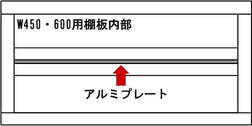 【ネット限定】書棚 リッキーRK−450−OP