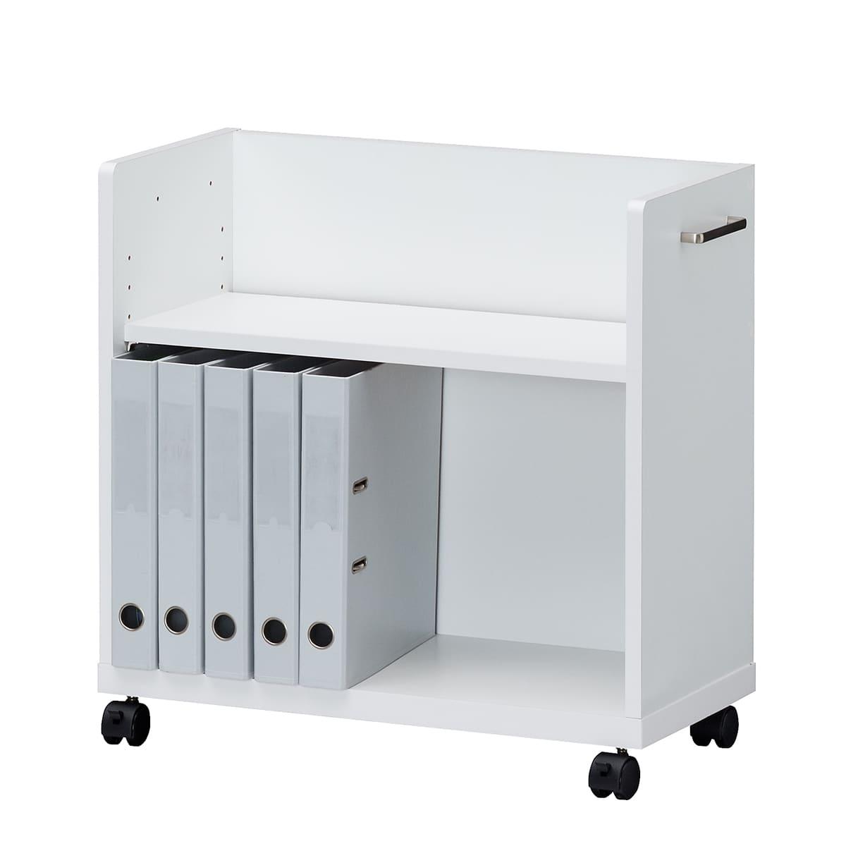 【ネット限定】デスクワゴン オフィスコ2 OF2−6060P:デスク下、デスク周りに便利な収納ワゴン