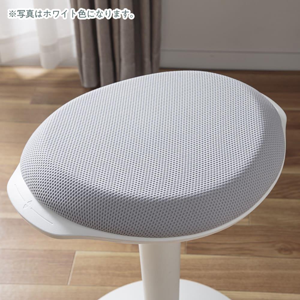 :クッション性で快適な座り心地