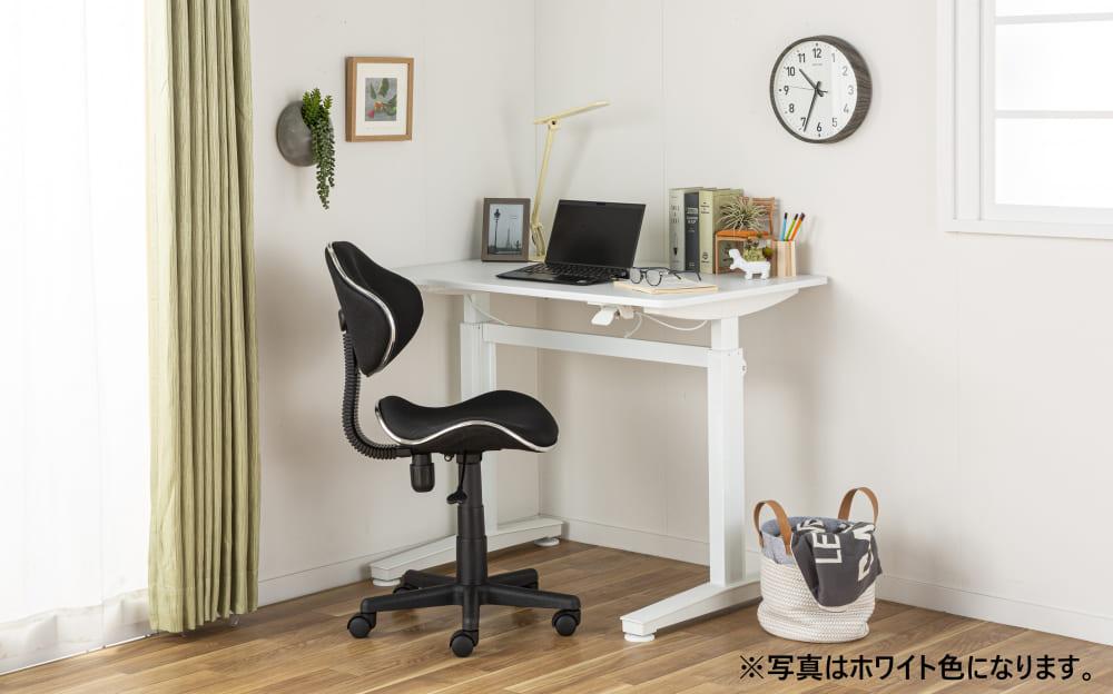 :簡単レバー式の昇降テーブル