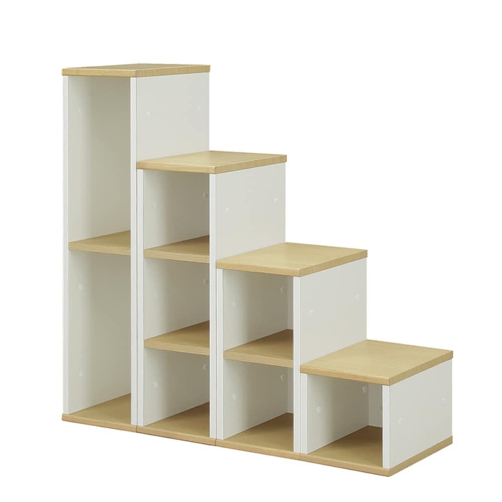 ステップ収納 ステップス(STEP'S)ステップ収納:自分好みに選べる自由度!