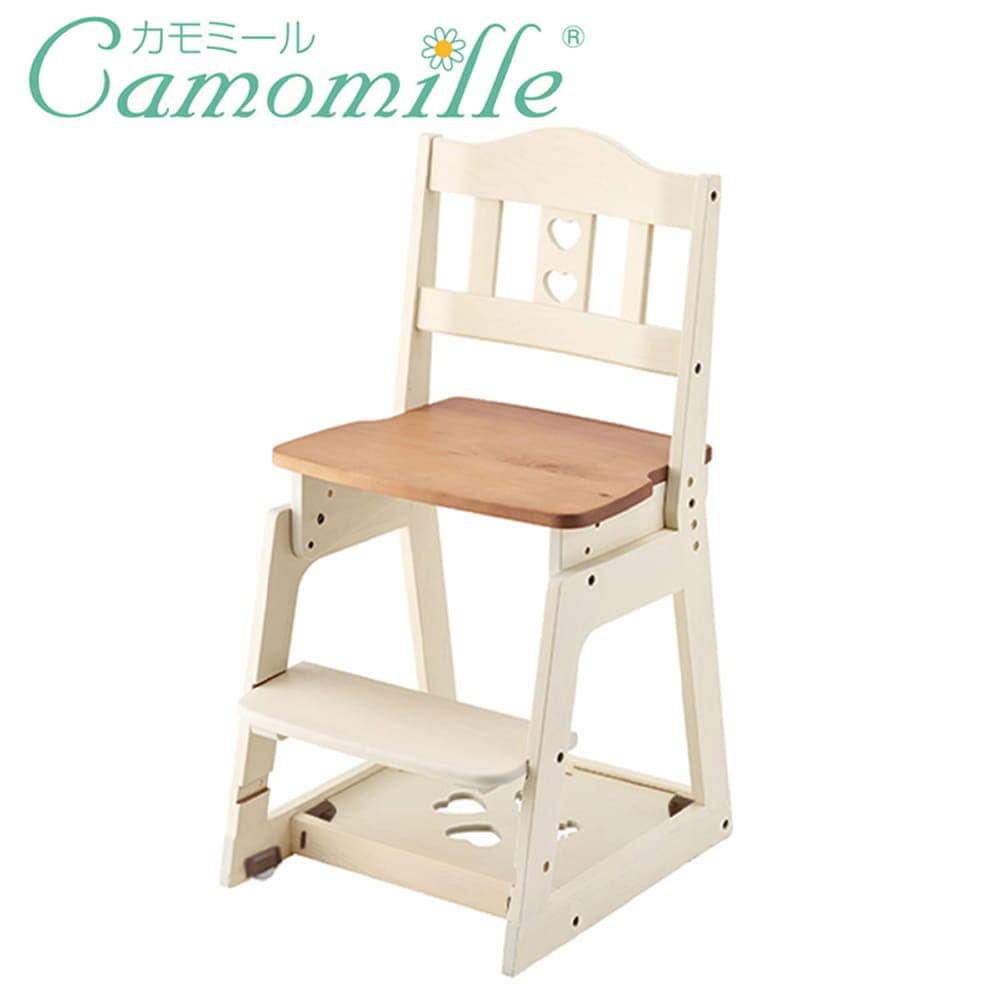 木製チェア カモミール専用 KM97−32GC ナチュラルホワイト色:フレンチカントリーのロングセラー「カモミール」