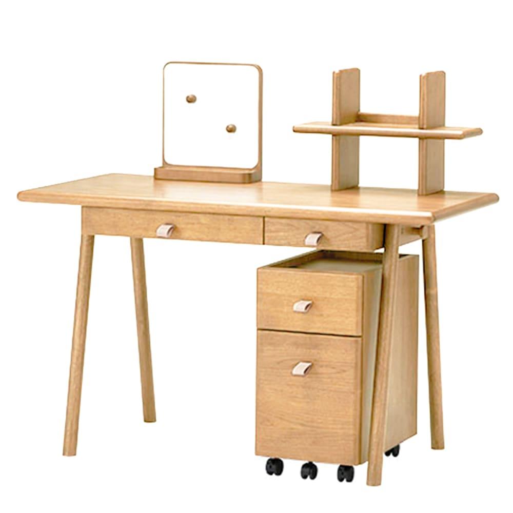 学習机4点セット ROYCE(デスク、ワゴン、ブックスタンド、マグネットボード) NT:大人になっても使える高いデザイン性とクオリティーの実現