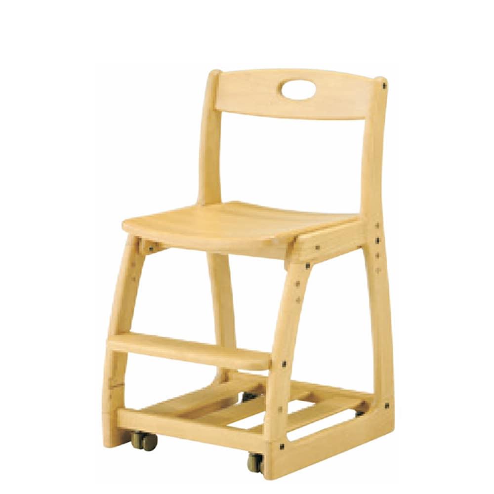 木製チェア G−61DX板座 AL