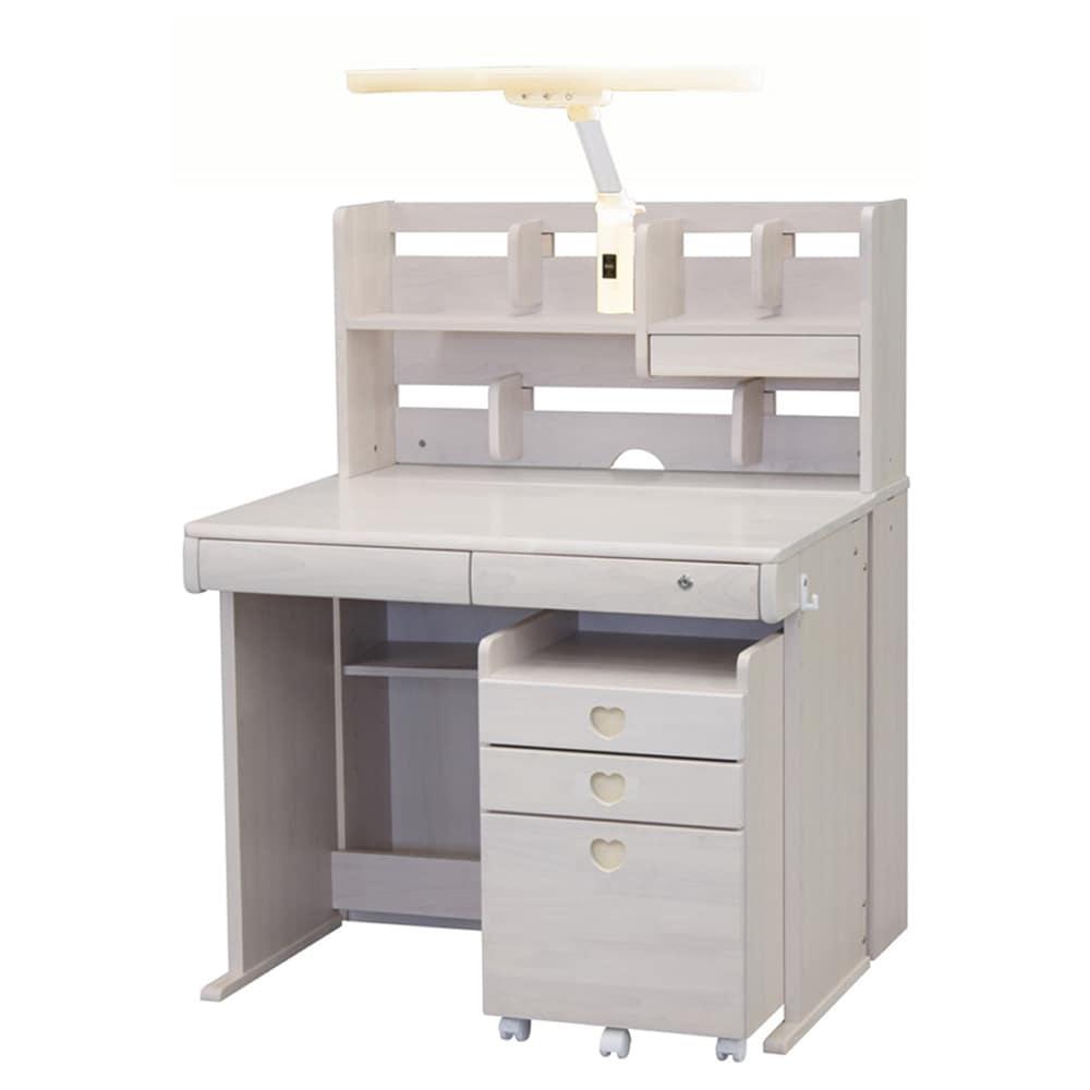 組みかえ型デスク ESシリーズ MWD−520TL WW・WW:ラバーウッドを生かした、木の温かみとやさしさを感じるデザイン