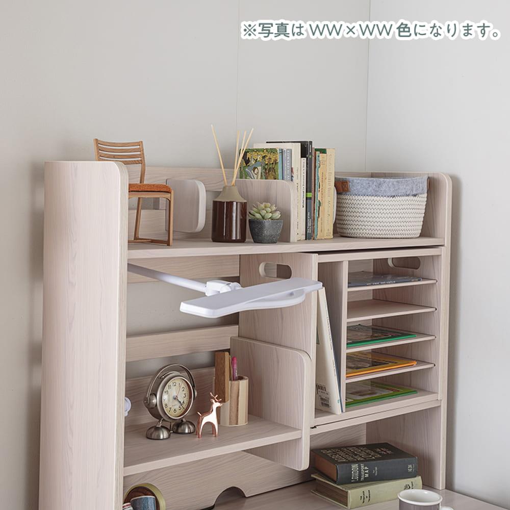 :可動式仕切り棚の収納スペース