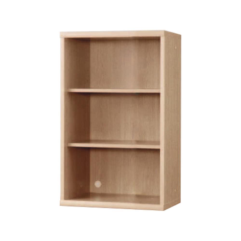 書棚 NOF−60オープン チェリーナチュラル:安心の日本製