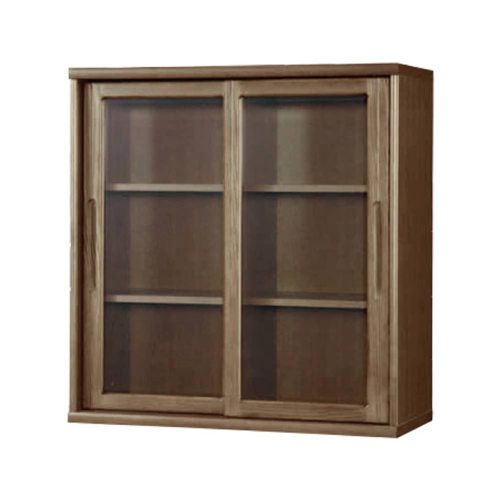 書棚 NOF−90引戸 ウォールモカ:安心の日本製