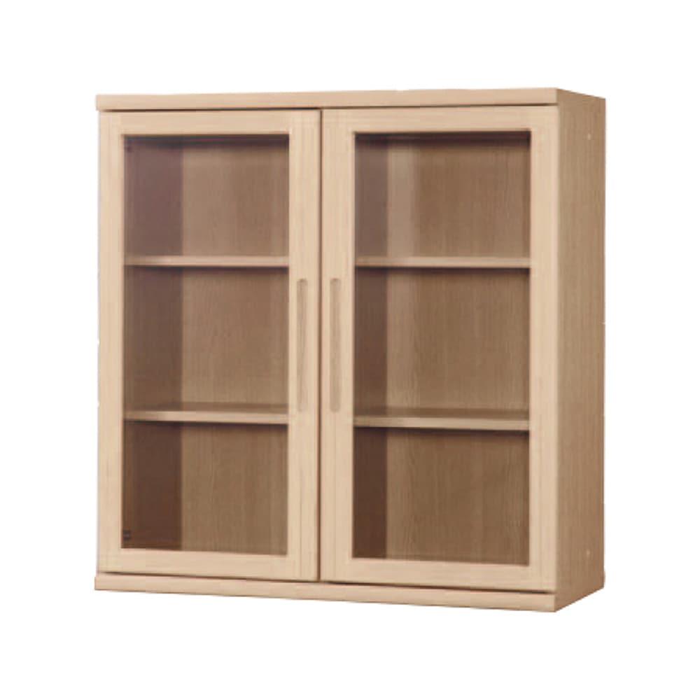 書棚 NOF−90開戸 チェリーナチュラル:安心の日本製