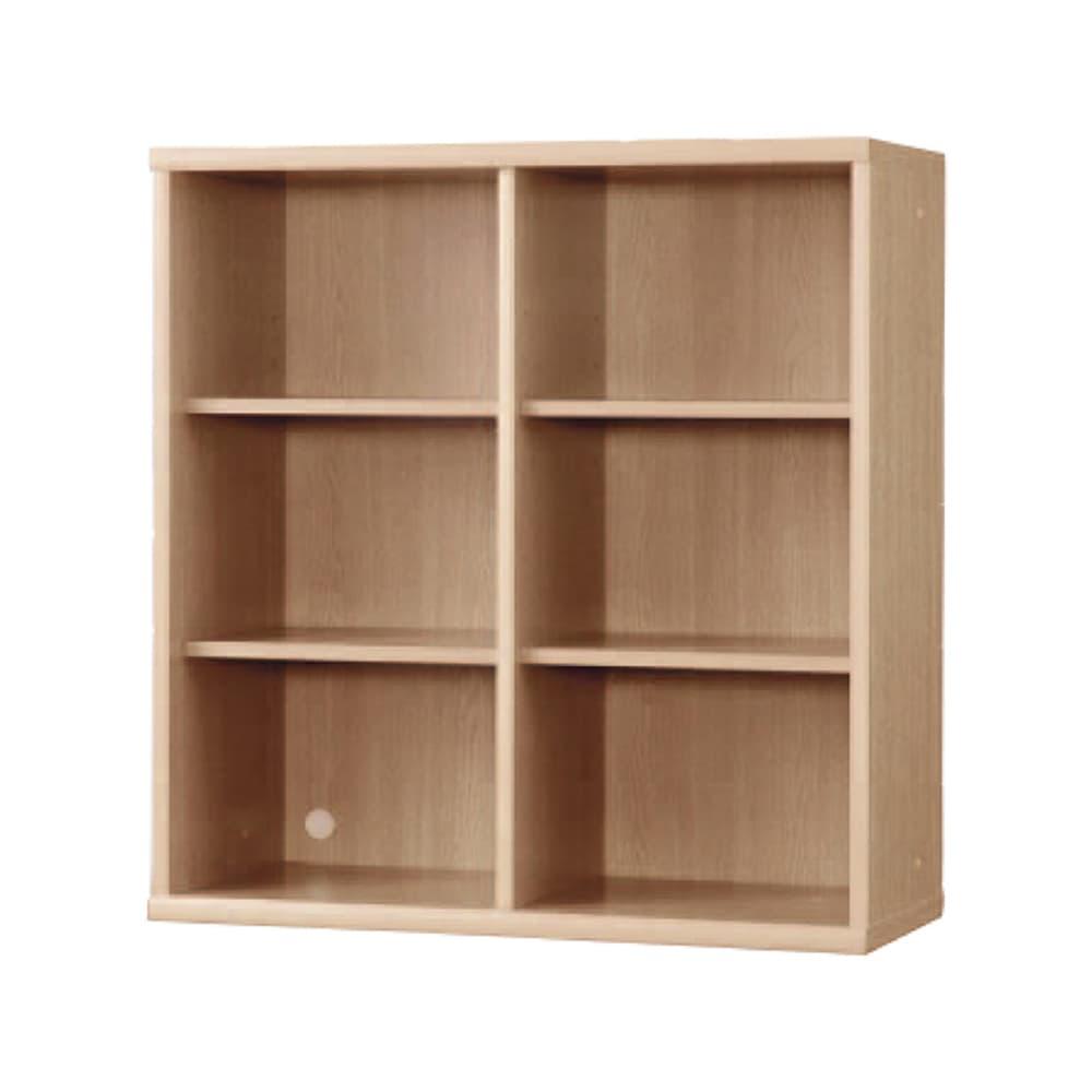 書棚 NOF−90オープン チェリーナチュラル:安心の日本製