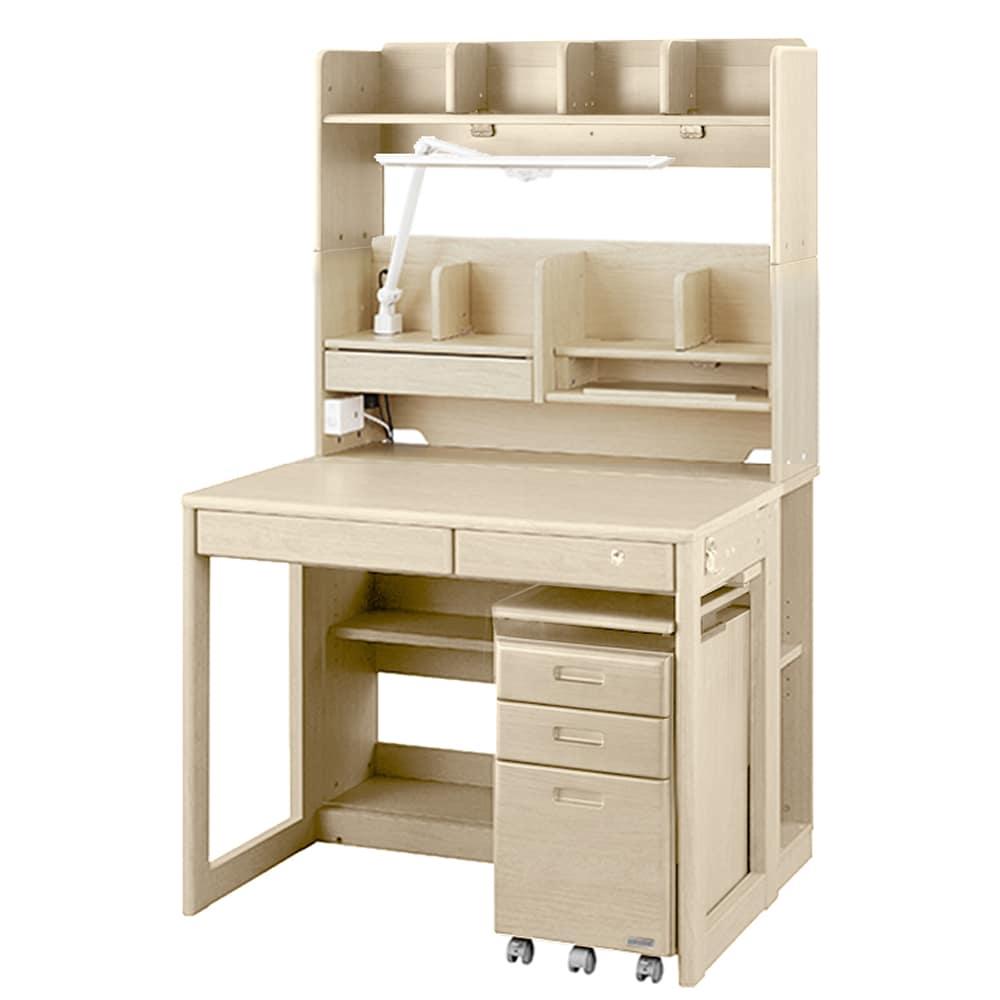 組みかえ型デスク SCD−20AWH ホワイト木目:タブレット学習対応 組みかえ型スタンダードモデル