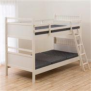 【ニトリ】 2段ベッド リク ZE WW ホワイトW