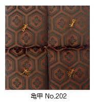 座卓布団 亀甲・小(4枚1組)亀甲No202