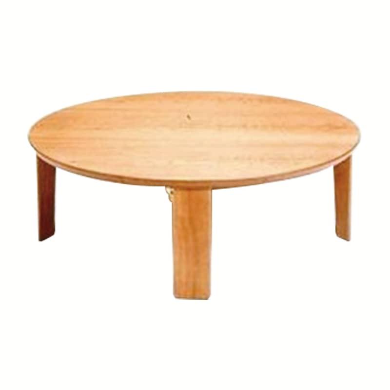 座卓 マロン100 NA:座卓 ※画像は90丸タイプです。