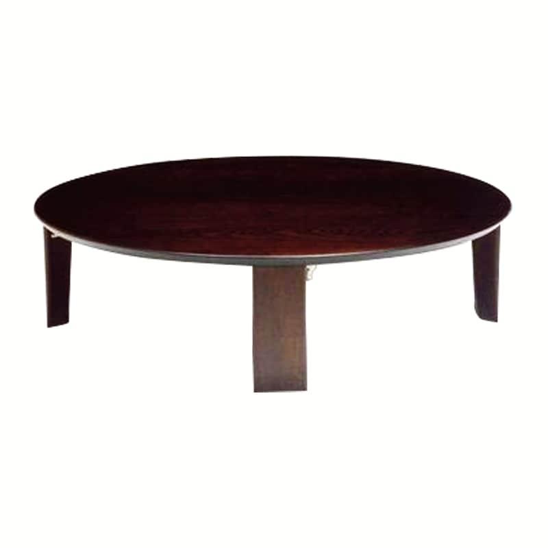 座卓 マロン100 BR:座卓 ※画像は90丸タイプです。