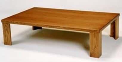 座卓ライト135MD:座卓 ※画像は幅120cmです。