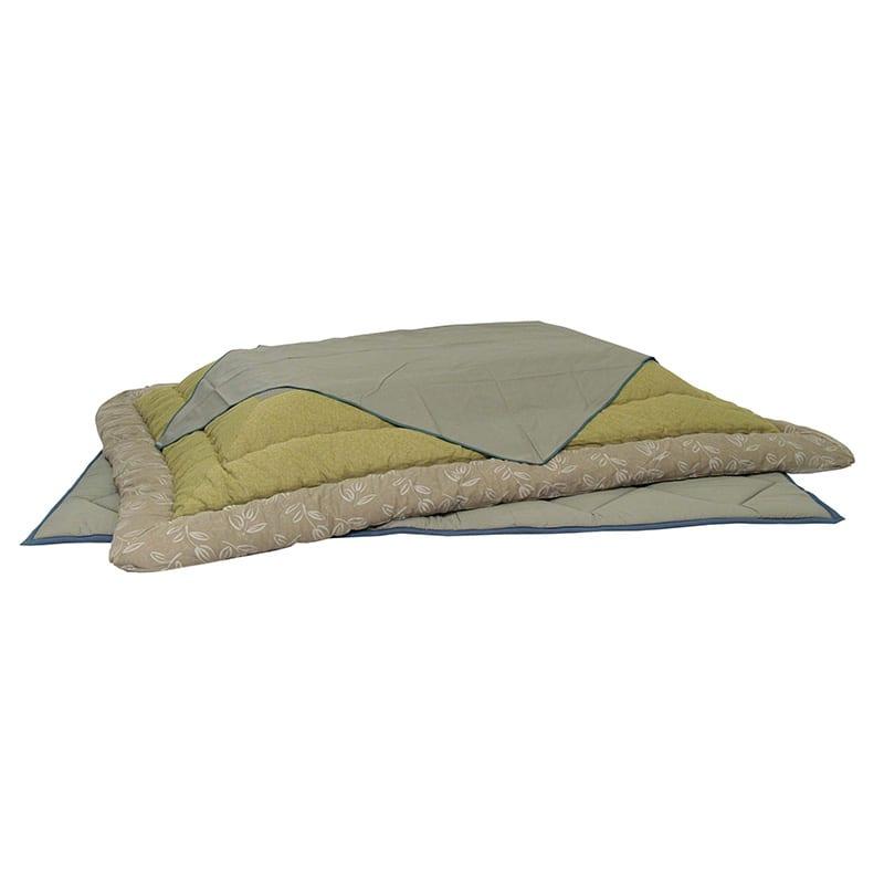 掛け布団(サロン付)KF−181#50青浅黄:【掛け布団単体の商品です】※敷布団は別売りです。 サイズは210×250です