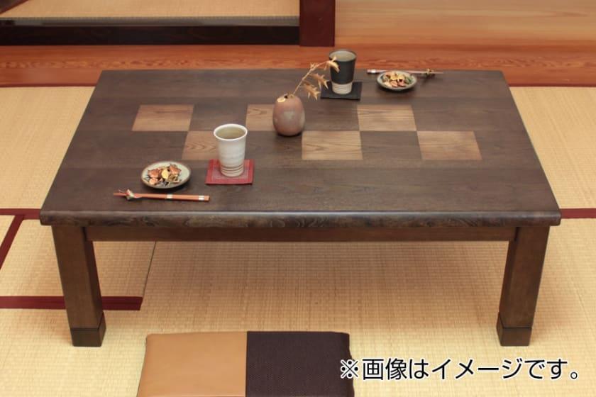 【国産】石英管ヒーターこたつ 六花(105)