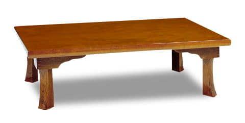 座卓新讃岐 120ケヤキ:座卓 ※写真は【105cmサイズ】です