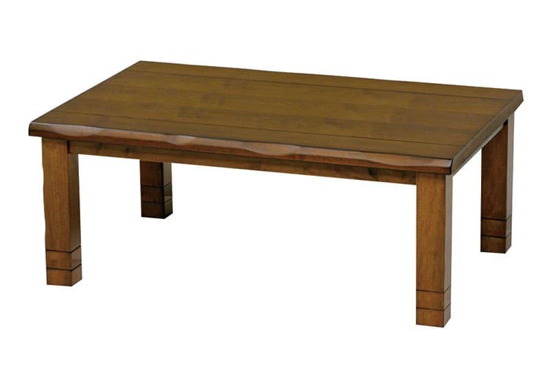 【高さ調節できる暖卓】ハロゲンヒーターこたつ みずきLH 90cm BR:【高さ調節できる暖卓】ハロゲンヒーターこたつ ※画像は長方形・幅120cmサイズです