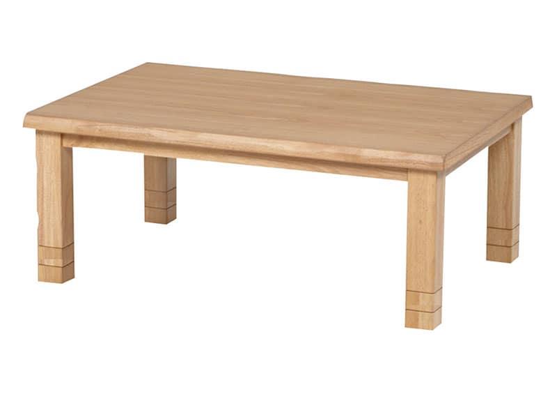 【高さ調節できる暖卓】ハロゲンヒーターこたつ みずきLH 120cm NA