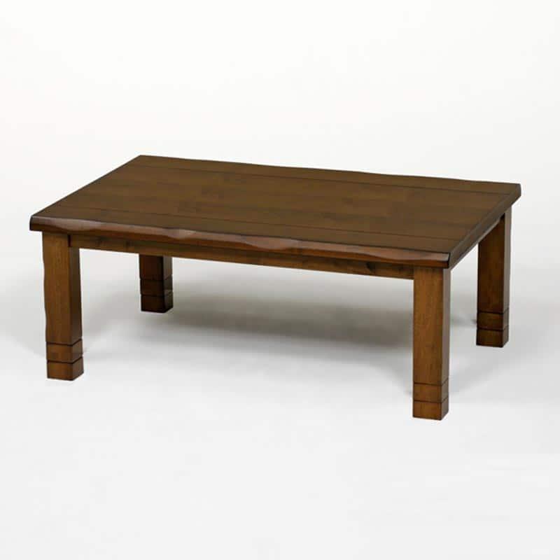 【高さ調節できる暖卓】ハロゲンヒーターこたつ みずきLH 150cm BR:【高さ調節できる暖卓】ハロゲンヒーターこたつ ※画像は長方形・幅120cmサイズです